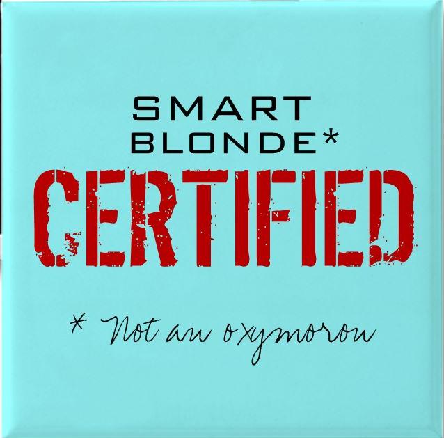 Certified Smart Blonde